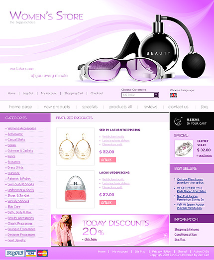 NetSuite Ecommerce Template 0015387b
