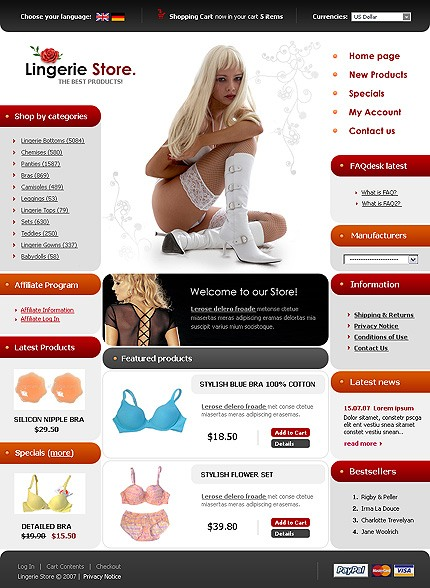 NetSuite Ecommerce Template 0016645b