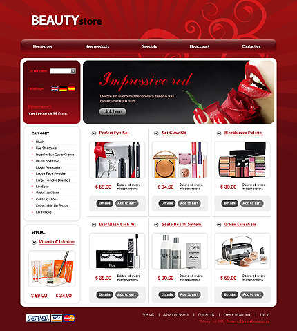 NetSuite Ecommerce Template 0021060b