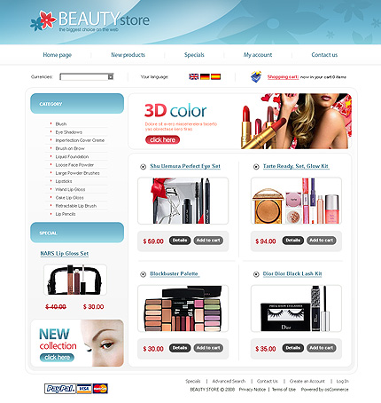 NetSuite Ecommerce Template 0021127b