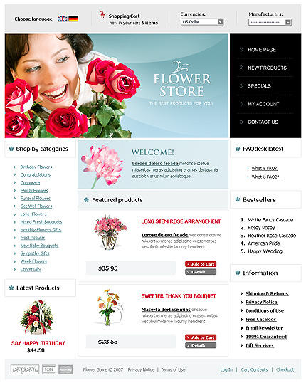 NetSuite Ecommerce Template 0016764b