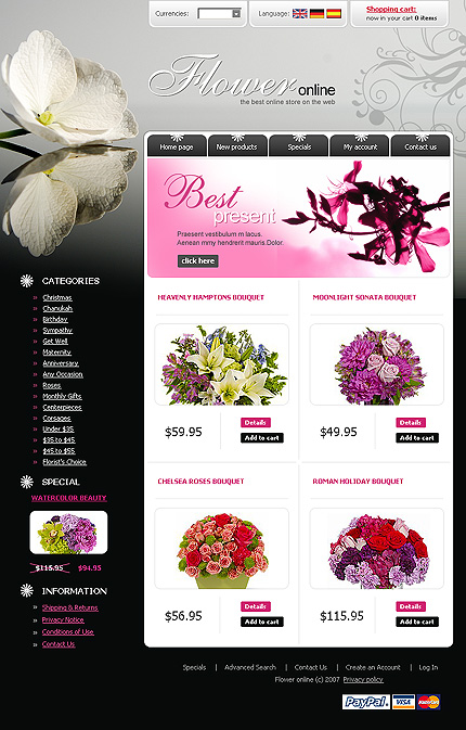 NetSuite Ecommerce Template 0016948b