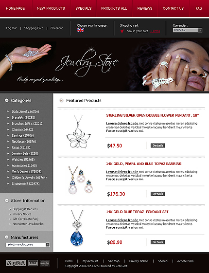 NetSuite Ecommerce Template 0014962b
