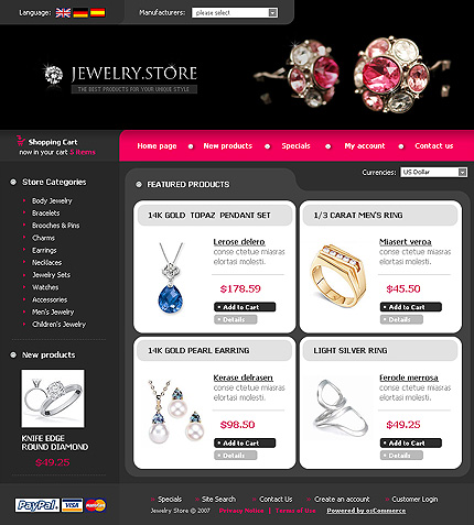 NetSuite Ecommerce Template 0016133b