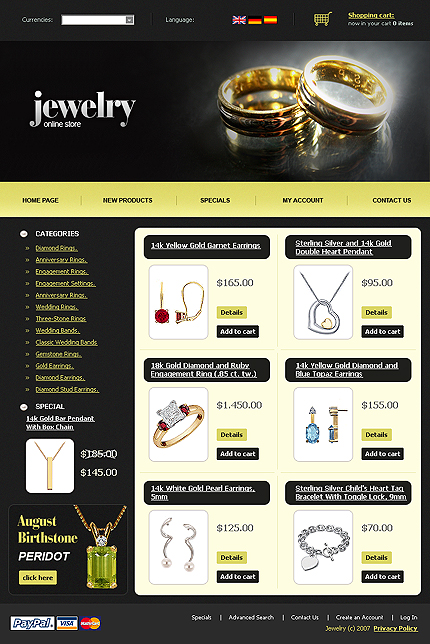 NetSuite Ecommerce Template 0016291b