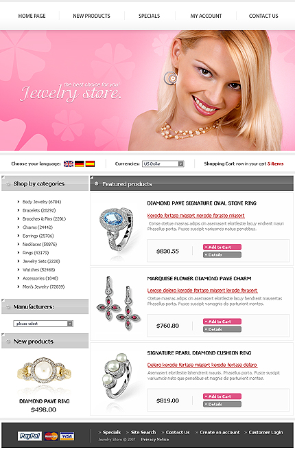 NetSuite Ecommerce Template 0016368b