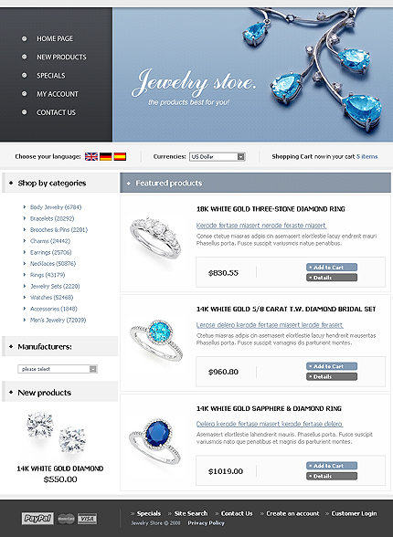 NetSuite Ecommerce Template 0016483b