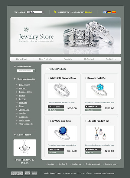 NetSuite Ecommerce Template 0018779b