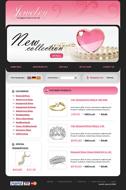 NetSuite Ecommerce Template 0019304b
