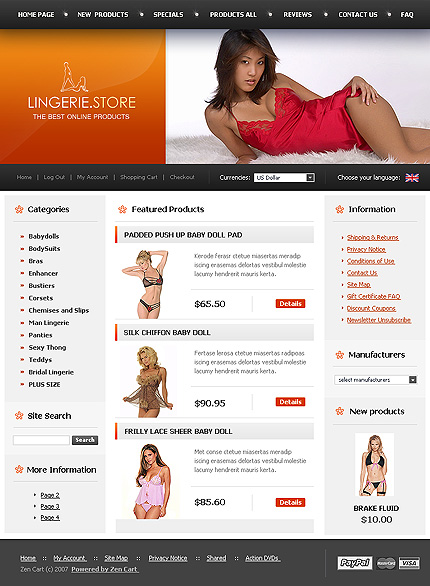 NetSuite Ecommerce Template 0020202b