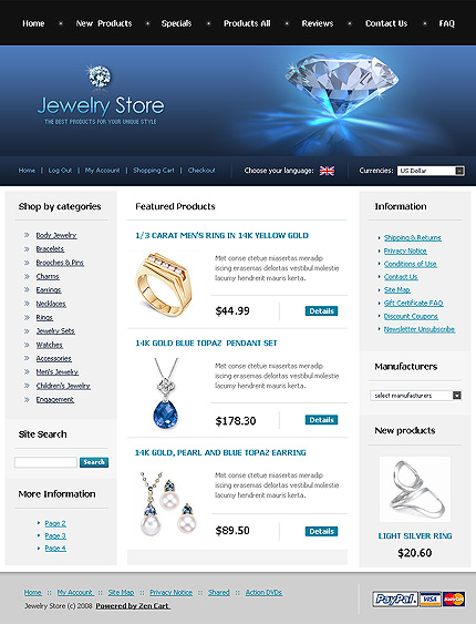 NetSuite Ecommerce Template 0020401b