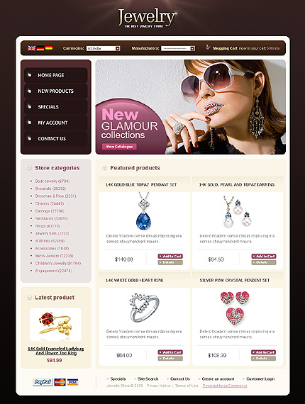 NetSuite Ecommerce Template 0022263b