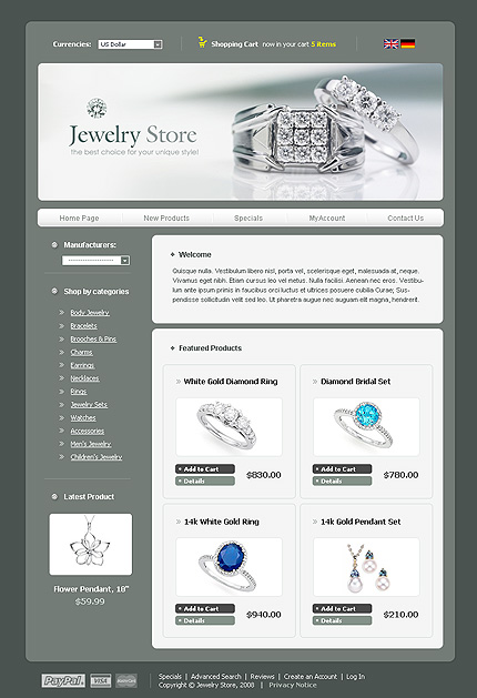NetSuite Ecommerce Template 0022448b