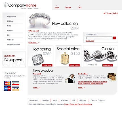 NetSuite Ecommerce Template 005662b