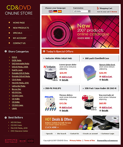 NetSuite Ecommerce Template 0013207b