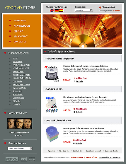 NetSuite Ecommerce Template 0016428b
