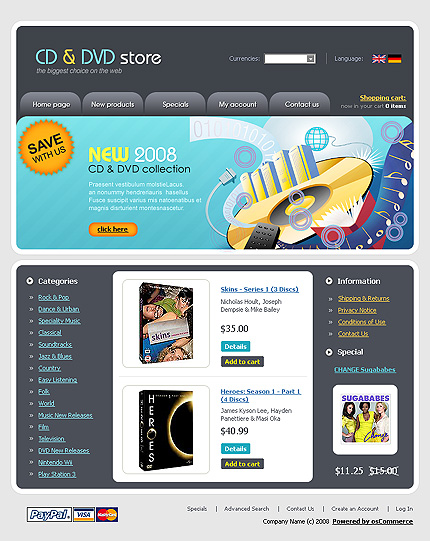 NetSuite Ecommerce Template 0017149b