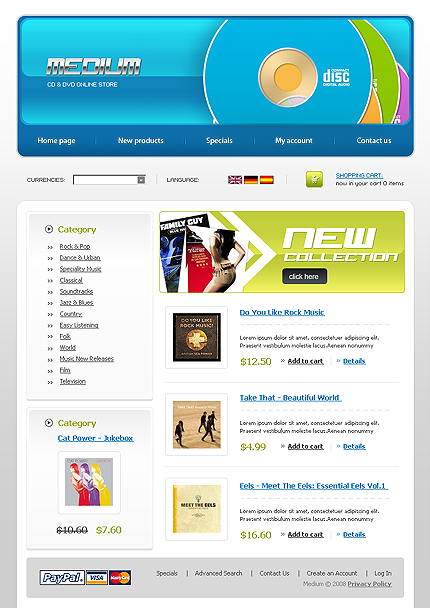 NetSuite Ecommerce Template 0019418b