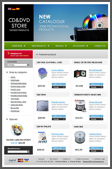 NetSuite Ecommerce Template 0019747b