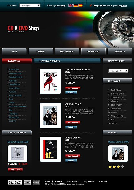 NetSuite Ecommerce Template 0021004b