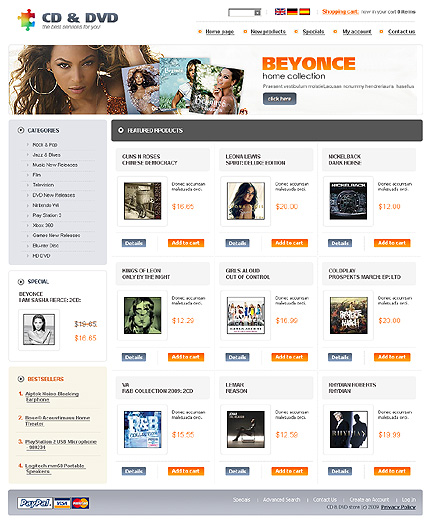 NetSuite Ecommerce Template 0022735b