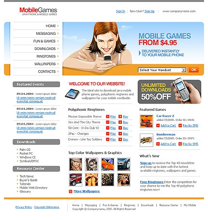 NetSuite Ecommerce Template 008312b