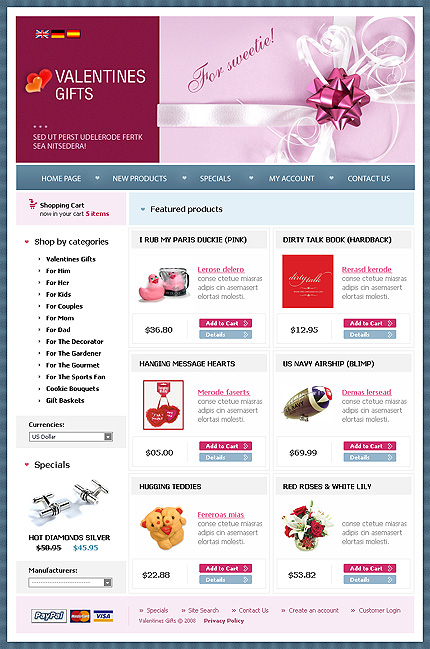 NetSuite Ecommerce Template 0018301b